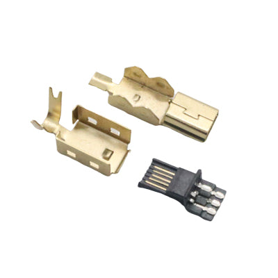 USB-Mini Connector (Gold)