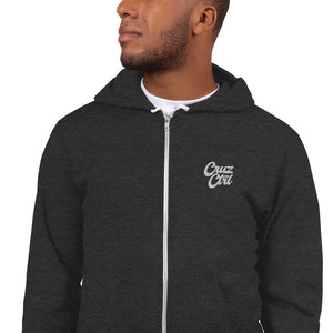 CruzCtrl Embroidered Zip Up