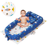 Baby Nest Bed Baby Newborn Lounger,Double-Sided Babynest,Breathable Baby Bassinets for Bed, 4 Color for your baby!