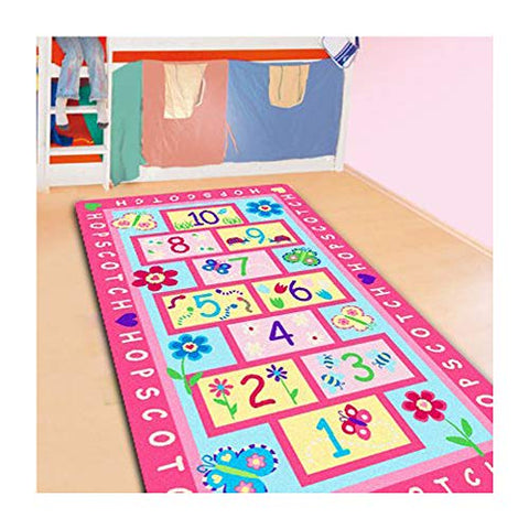 Home Textile,Fashion Hopscotch Kids Carpet