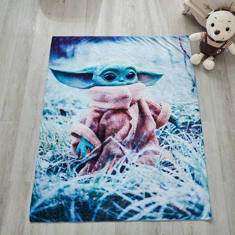 "Yoda Baby Tapestry Throw Blanket Ultra-Soft Material Plush Blanket for Couch Bed Sofa, 50 ""x 60 """
