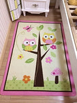 Home Textile,Unique Cartoon Owl Carpet