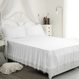 Luxury White Boho Bedding Tassel Extra Soft Cozy Duvet Cover Sets
