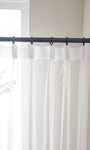 Floral Embroidered Sheer Curtains