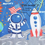Outer Space Kids Rug Cute Kids Room Carpet 39''52''