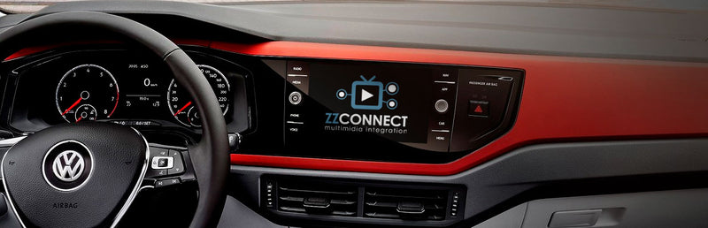 Interface com TV Digital integrada para Volkswagen