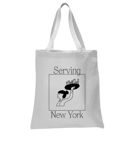 Serving New York: Tote Bag