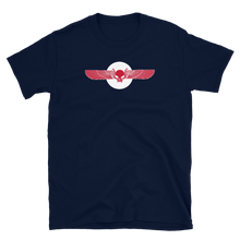 Load image into Gallery viewer, Red Winged Skull ToV Logo Shirt