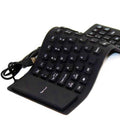 Flexible Water Resistant Silicone Mini Gaming Keyboard Portable USB Keyboard  for Tablet Computer Laptop PC Hot Sale