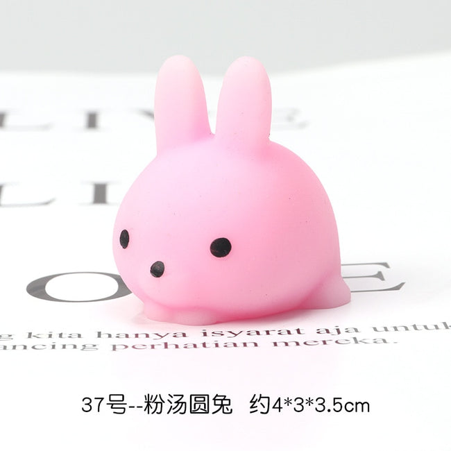 10 PCS Mini Squishy Cute Antistress Ball Squeeze Mochi Rising Abreact Soft Sticky Stress Relief Funny Toy