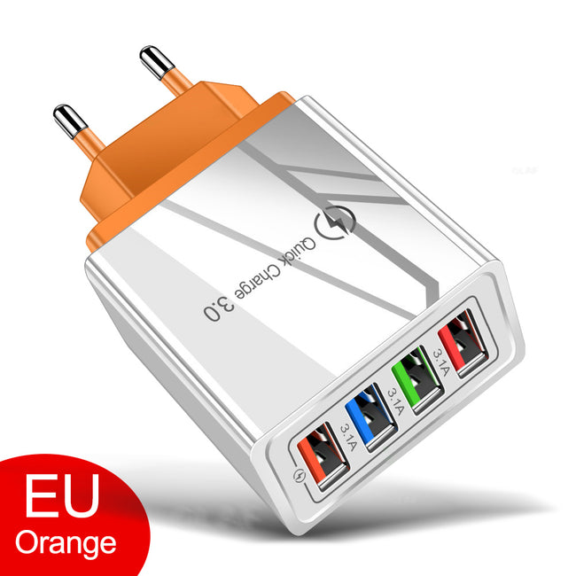 Mobile Phone Charger USB Charger Quick Charge 3.0 4.0 QC3.0 Fast Charging