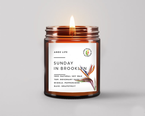 Sunday in Brooklyn Candle