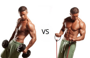 Resistance Bands vs Weights