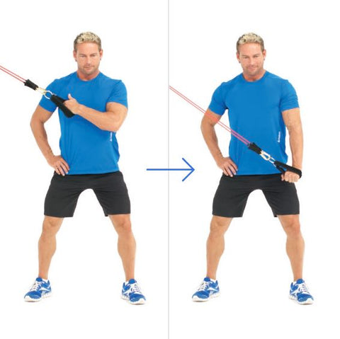 Tricep Exercise - Cross Body Triceps Extension - Haryzona