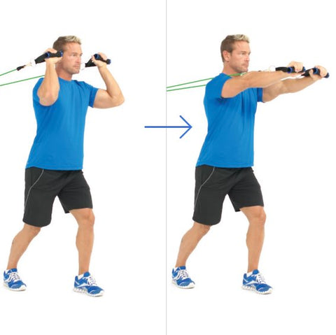 Forward Triceps Extension - Tricep Exercise - Haryzona