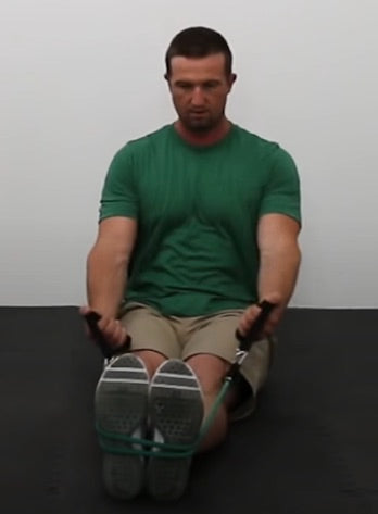 Back Workout - Seated Rev. Grip Row