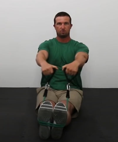 Back Workout - Seated Wide Row