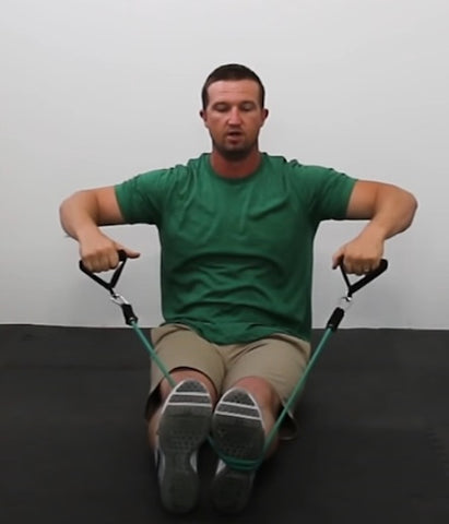 Back Workout - Seated Wide Rows