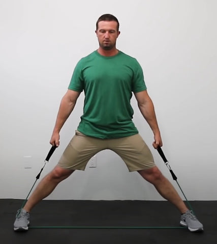 Back Workout - Wide Stance Shrugs