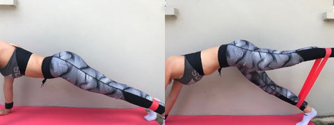 resistance bands butt/abs - Haryzona