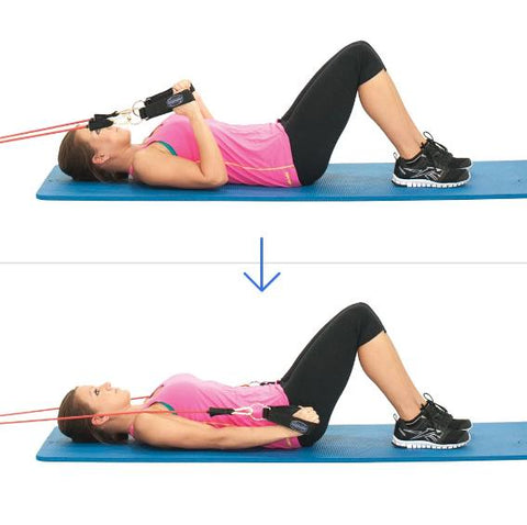 Triceps Workout - Lying Triceps Extension - Haryzona