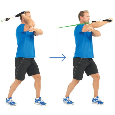 One Arm Forward Triceps Extension - Tricep Workout - Haryzona