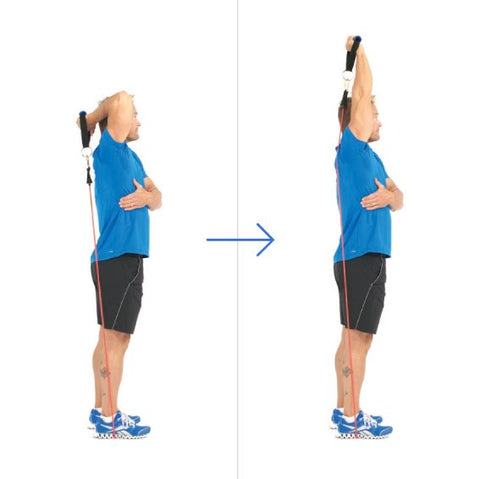 One Arm Overhead Triceps Extension - Triceps Workout - Haryzona