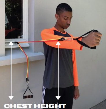 Resistance Band Chest Height - Haryzona