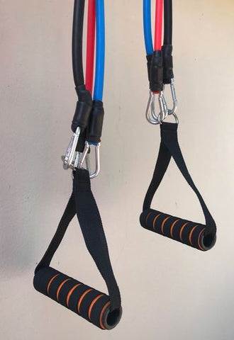 Resistance Bands with Handles - Haryzona