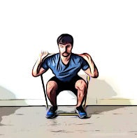 Squat - Legs Exercise - Haryzona