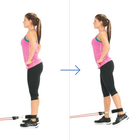 Standing Hip Extension - Leg Workout - Haryzona