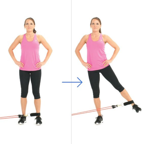 Legs Exercise - Standing Leg Abduction - Haryzona
