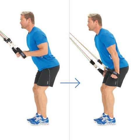 Standing Triceps Extension With Bands - Haryzona