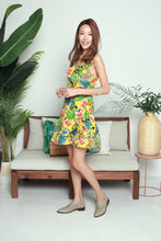 Load image into Gallery viewer, Colourful Leaves Short Dress