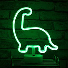Load image into Gallery viewer, Dinosaur Neon Light