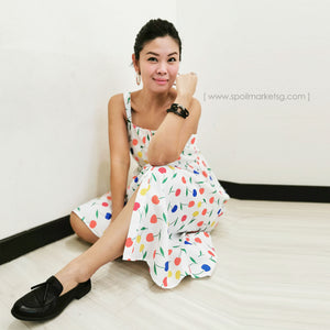 Fruits Midi Dress
