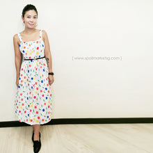 Load image into Gallery viewer, Fruits Midi Dress
