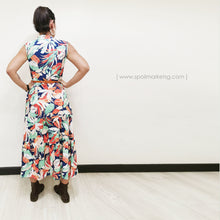 Load image into Gallery viewer, Fauna Print Sleeveless Dress