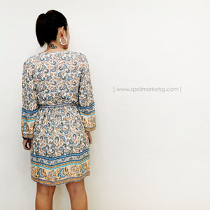 Peranakan Dress (Nude)