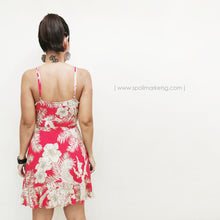Load image into Gallery viewer, Palm Spring Red Short Dress