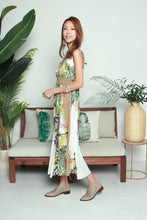 Load image into Gallery viewer, Batik Print White Dress