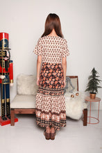 Load image into Gallery viewer, Boho Nude Midi Dress