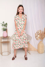 Load image into Gallery viewer, Big Cherry Print Midi Dress