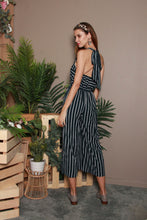 Load image into Gallery viewer, Stripes Midi Jumpsuit