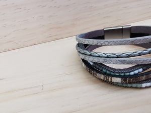 Multi Layered Tiles Bangle