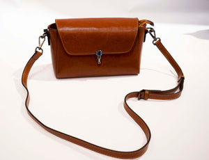Leather Cross Body Purse Bag