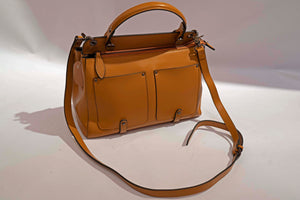 Leather Shoulder Frame Bag