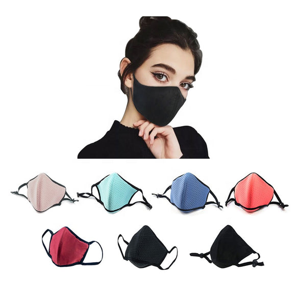 fashion washable allergy air pollution pm2.5 mask for smog