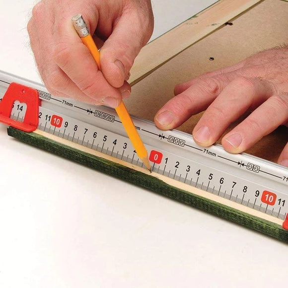 Multi-functional Ruler of Horizontal Calibration