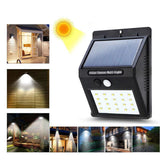 20 LED Solar Lamps Outdoor
